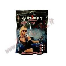 PALLINI BUSTA AIRSOFT ONE 1Kg 5000Pz BB 0.20 PLASTICA 6mm PERFECT PALLINO BUSTE