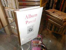 Album Pléiade Pascal