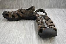 Skechers Conifer Selmo 64641 Sandals, Men's Size 14, Brown