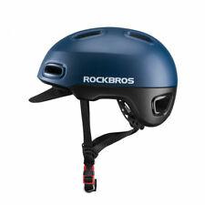 RockBros Bicycle Commuter City Leisure Cycling Helmet Detachable Visor Blue