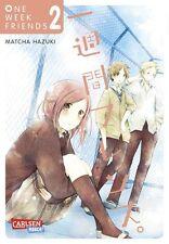 One week Friends 2-Allemand-Willard manga-article NEUF