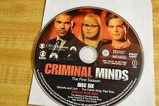 Criminal Minds First Season 1 Disc 6 Replacement DVD Disc Only