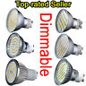UK STOCK Dimmable SMD 6W 9W 60SMD LED Spot Light Bulb Lamp GU10 Day Warm White