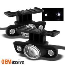 Fits 99-02 Silverado 00-06 Suburban Tahoe Halo Projector Fog Lights Lamps W/LED