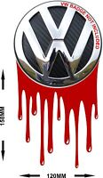 VW T5 TRANSPORTER DRIPPING PAINT DECAL LOTS OF COLOURS CARBON FIBRE