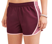 Athletic Works Women's Core Active Woven Running Short with Inner Liner Size XL
