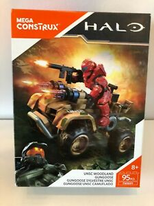 Mega Construx Halo UNSC Woodland Gungoose FMM89 New
