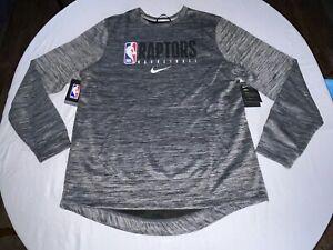 Nike Dri-Fit NBA Toronto Raptors Engineered Sweatshirt Size Medium AV1403-032