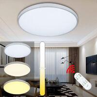 12W-60W LED Deckenleuchte Deckenlampe Badlampe Wohnraum Lampen Effektlicht Rund