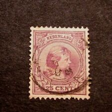 Netherlands Stamp Scott# 48  Princess Wilhelmina 1894      C357