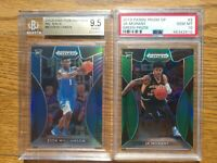 2019 Prizm Draft Blue Zion Williamson RC #64 BGS 9.5 & Ja Morant Green PSA 10 #2