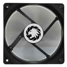 Game Max Windforce Black 12cm 120mm PC Case Cooling Fan 3-pin & 4-Pin Molex