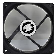 Juego Max Windforce 12cm 120mm Estuche de PC refrigeración Black Ventilador 3-pin & 4-Pin Molex