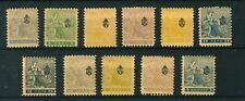 Serbia 1911 Newspaper full set of stamps. Mint.