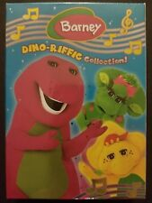 Barney - The Dino-Riffic Collection! (3-DVD Box Set, 2006) NEW SEALED OOP