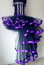 Noir Violet Burlesque Dita Jupe Tutu 6 8 10 12 Sexy Agitation Halloween