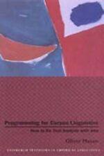 Programming for Corpus Linguistics: How to Do Text Analysis with Java (Edinburgh