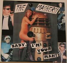 MASHERS Baby I'm Man LP NEW spits nude cover cheesecake spider babies stitches