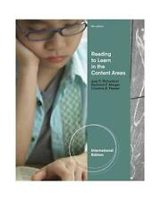 NEW - Free Express Ship - Reading to Learn in the Content Areas by Richardson 8E