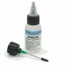 MICROLUBROL™ ARMASIL™ High-Perf 100% Silicone Oil for Airsoft Airgun Air Gun 1oz