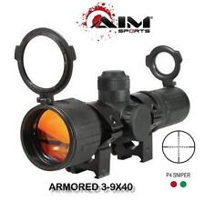 AIM Tactical 3-9x40 Compact Dual Illuminated Armored Scope MSRP $100