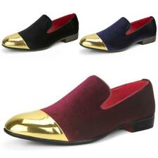 Faux Leather Slip On Shoes Pointed for Men
