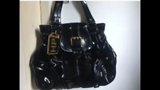 Dooney & Bourke Limited Edition Black Patent Hayden Panettiere Shoulder Bag