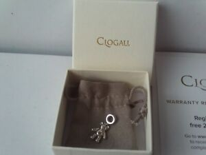Clogau Teddy Bear Milestones Bead Charm Sterling Silver 9ct Welsh Rose Gold NEW