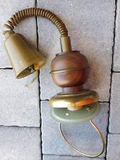 1980 cable LAMPE de table CUISINE SUPPORT lamp holder HAUTEUR REGLABLE vintage