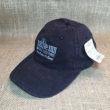Native Sun Natural Foods Market Black Baseball Style Hat Organic Cotton