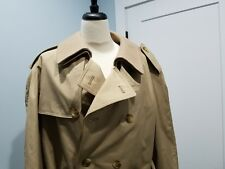 Burberrys Mens Trench Coat Long Vintage Burberrys -made in England 42 Regular