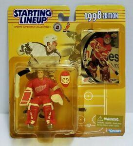 CHRIS OSGOOD Detroit Red Wings Kenner Starting Lineup NHL SLU 1998 Figure & Card