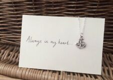 One Direction 1D Inspired Rope Anchor Charm Necklace Larry Stylinson AIMH Fandom