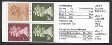 FB37 50p Roman Theatre (2nd Roman Britain) Folded Booklet Reversed Phosphor