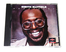 CD: Curtis Mayfield - Heartbeat (1994 Charly Groove) CPCD 8071 UK Import Tell Me