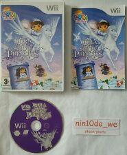 DORA THE EXPLORER SPEICHERT THE SNOW PRINZESSIN Wii & U-DOORA+PEGASUS+FEE=gc✔