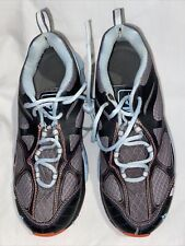 Vasque Women's Gray Blue And Orange Hiking Shoes Size 8.5/39