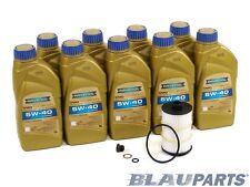 Audi S8 Motor Oil Change Kit - 2013-17 - 4.0T - 5w40
