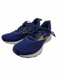 Brooks Anthem 3 Blue White Mens 9.5 Athletic Road Running Training Sneaker Shoe