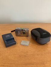 Canon PowerShot ELPH SD800 IS IXUS 850 IS 7.1MP Digital Camera + Charger & Batte