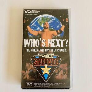 Who's Next WCW nWo Starrcade VHS 1998 World Championship Wrestling