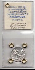 VITTORIO EMANUELE III° RE d'Italia 1 LIRA 1916 Lire 1 Argento Quadriga Briosa