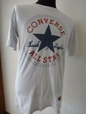 VINTAGE 1980's CONVERSE ALL STAR CHUCK TAYLOR BIG LOGO MADE IN USA T-SHIRT SHOES