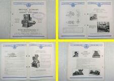Brochure British Junkers Diesel Engines Peter Brotherhood Prospekt 1933 England