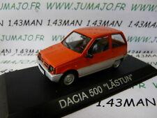 BAL10 Car 1/43 Ixo Deagostini Balkans: dacia 500 Lastun