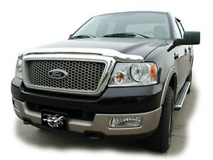 Stampede for 1997-2002 Ford Expedition Vigilante Premium Hood Protector - Chrome