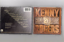 KENNY ROGERS-20 GREAT YEARS CD