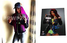 WWE SASHA BANKS HAND SIGNED AUTOGRAPHED 8X10 PHOTO WITH EXACT PIC PROOF & COA 54