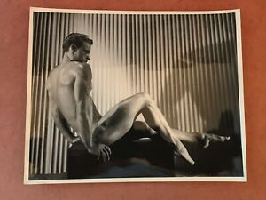 Vintage Male Nude Gay interest. 8x10 inches