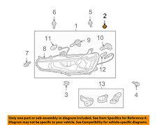 MITSUBISHI OEM 02-17 Lancer-Headlamp Assembly Grommet MR393386